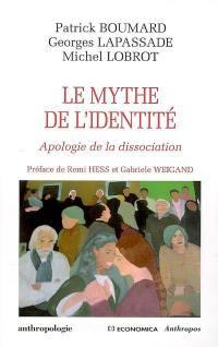 Le mythe de l'identité