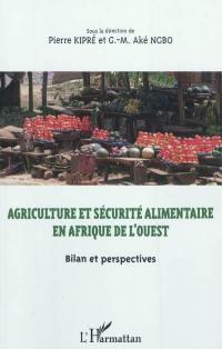 Agriculture et sécurité alimentaire en Afrique de l'Ouest