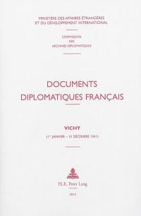 Documents diplomatiques français : 1939-1944, Documents diplomatiques français