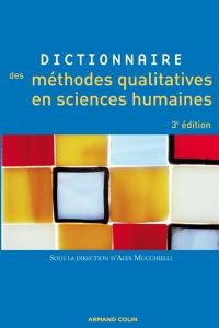 Dictionnaire des méthodes qualitatives en sciences humaines et sociales
