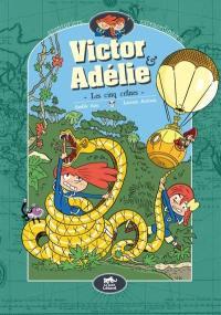 Victor & Adélie, aventuriers extraordinaires. Volume 2, Les cinq crânes
