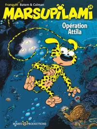 Marsupilami. Volume 24, Opération Attila