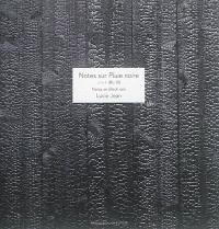 Notes sur Pluie noire = Notes on Black rain