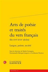 Arts de poésie et traités du vers français (fin XVIe-XVIIe siècles)