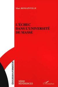 L'échec dans l'université de masse