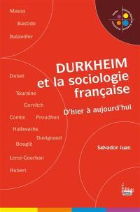 Durkheim et la sociologie française