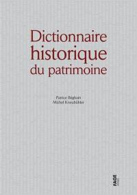 Dictionnaire historique du patrimoine