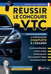 Réussir le concours VTC