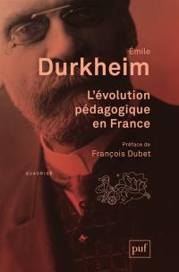 L'évolution pédagogique en France