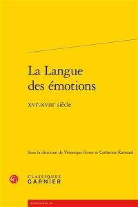 La langue des émotions