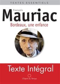 Bordeaux, une enfance provinciale