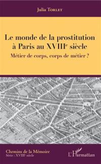 Le monde de la prostitution à Paris au XVIIIe siècle