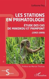 Les stations en primatologie