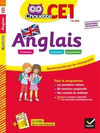 Anglais CE1, 7-8 ans