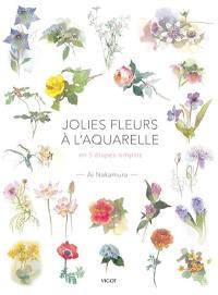 Jolies fleurs à l'aquarelle