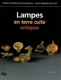 Lampes en terre cuite antiques