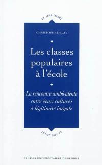 Les classes populaires à l'école