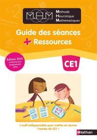 Méthode heuristique de mathématiques CE1 : guide des séances + ressources