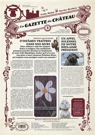 La gazette du château. Volume 3,