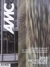 AMC, le moniteur architecture. n° 274, 2018