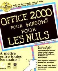 Office 2000 pour Windows pour les nuls