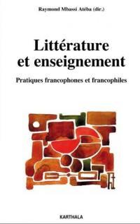Littérature et enseignement