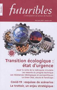 Futuribles. n° 436, Transition écologique
