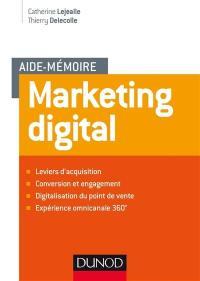 Aide-mémoire de marketing digital