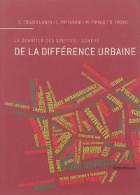 De la différence urbaine