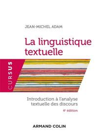 La linguistique textuelle
