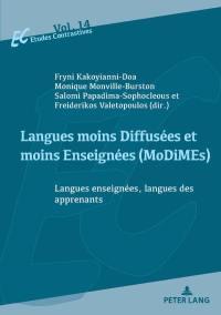 Langues moins diffusées et moins enseignées (MoDIMEs)