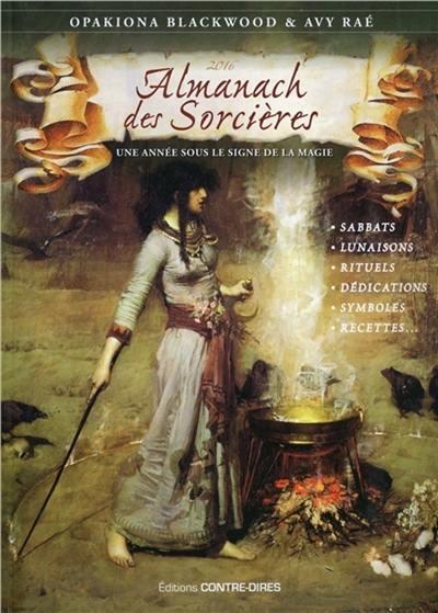 Almanach des sorcières 2016
