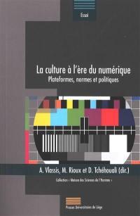 La culture à l'ère du numérique