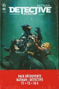 Pack découverte Batman detective T1 + T2 offert