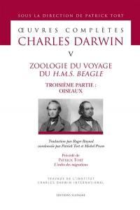 Zoologie du voyage du H.M.S. Beagle. Volume 3,