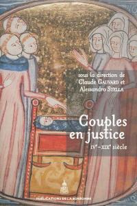 Couples en justice