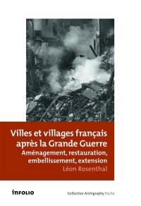 Villes et villages français après la Grande Guerre