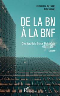 De la BN à la BnF