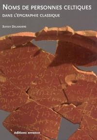 Nomina celtica antiqua selecta inscriptionum