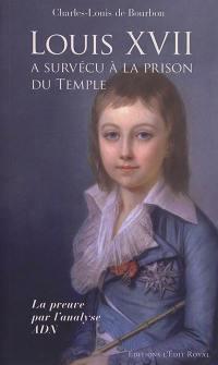 Louis XVII a survécu à la prison du Temple