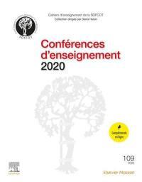 Conférences d'enseignement 2020