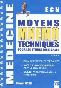 Moyens mnémotechniques utiles pour les études médicales