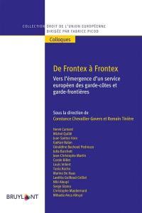 De Frontex à Frontex