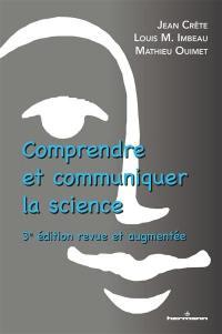 Comprendre et communiquer la science