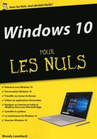Windows 10 pour les nuls