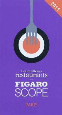 Les meilleurs restaurants du Figaroscope 2011