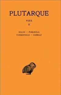 Vies. Volume 2, Solon-Publicola