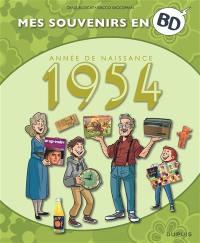 Mes souvenirs en BD. Vol. 15. Année de naissance : 1954