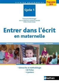 Entrer dans l'écrit en maternelle