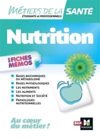 Nutrition en fiches mémos